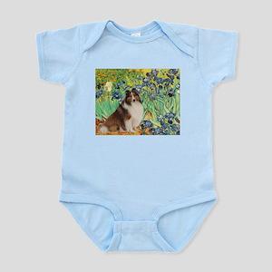 Irises / Sheltie Infant Bodysuit