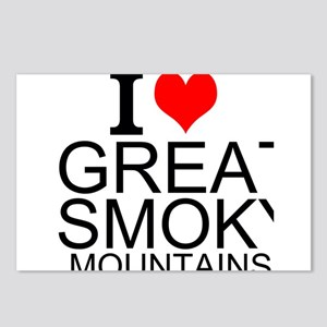 I Love Great Smoky Mountains Postcards (Package of