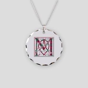 Monogram - MacFie Necklace Circle Charm