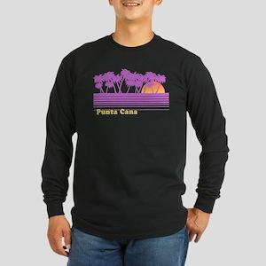 Punta Cana Long Sleeve Dark T-Shirt