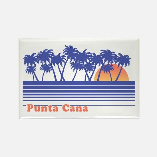 Punta Cana Rectangle Magnet