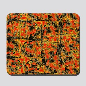 Golden Red Mousepad