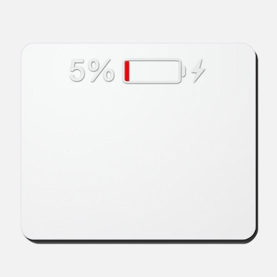 Low Batteries Mousepad