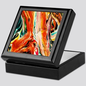 ABSTRACT AND ARTSY Keepsake Box
