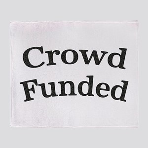 Crowd Funded Throw Blanket