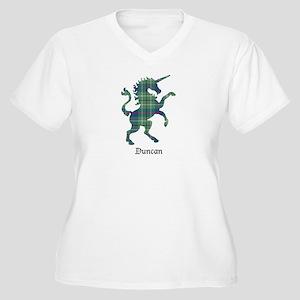 Unicorn - Duncan Women's Plus Size V-Neck T-Shirt