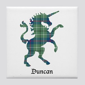 Unicorn - Duncan Tile Coaster
