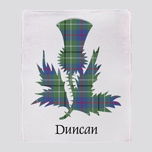 Thistle - Duncan Throw Blanket