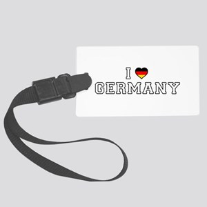 I Love Germany Large Luggage Tag
