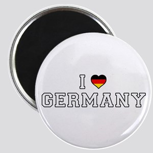 I Love Germany Magnets