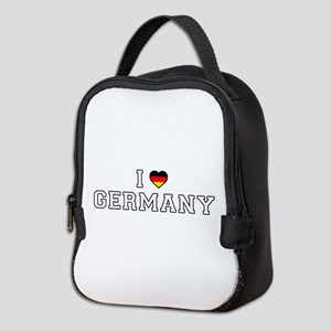 I Love Germany Neoprene Lunch Bag