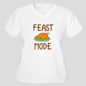 Feast Mode Plus Size T-Shirt