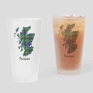 Map - Duncan Drinking Glass