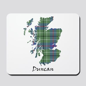 Map - Duncan Mousepad