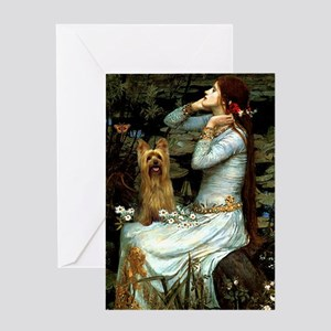 Ophelia / Silky T Greeting Card