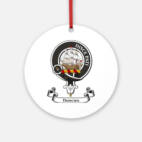 Badge - Duncan Ornament (Round)