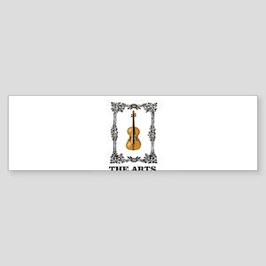 fiddle and the Arts Bumper Sticker