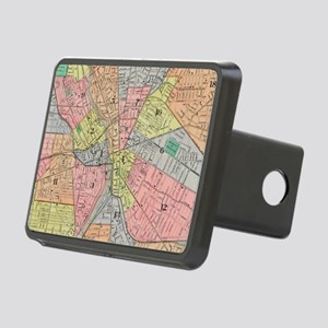 Vintage Map of Rochester N Rectangular Hitch Cover