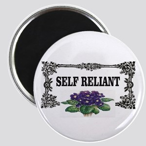 self reliant purple box Magnets