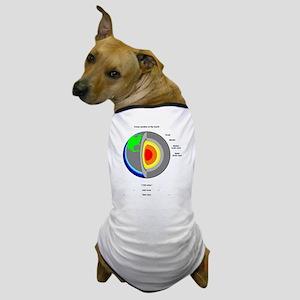 Earth's Core Dog T-Shirt