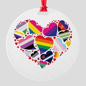 All Pride Heart Ornament
