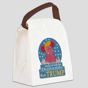Adorable Deplorable Canvas Lunch Bag