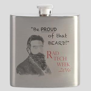 Xray Week Beard Guy 2016 Flask