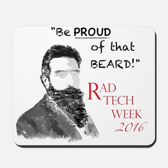 Xray Week Beard Guy 2016 Mousepad