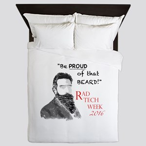Xray Week Beard Guy 2016 Queen Duvet