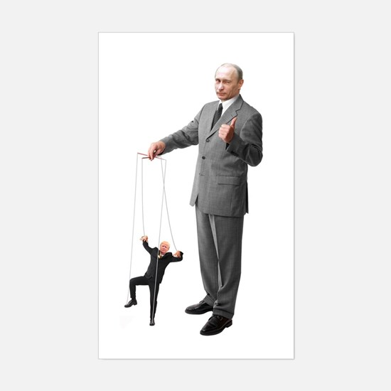 Putin Pulls The Strings Decal