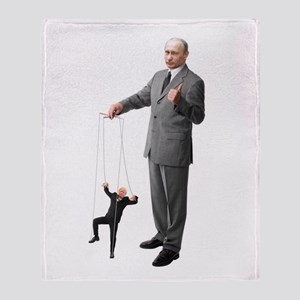 Putin Pulls The Strings Throw Blanket