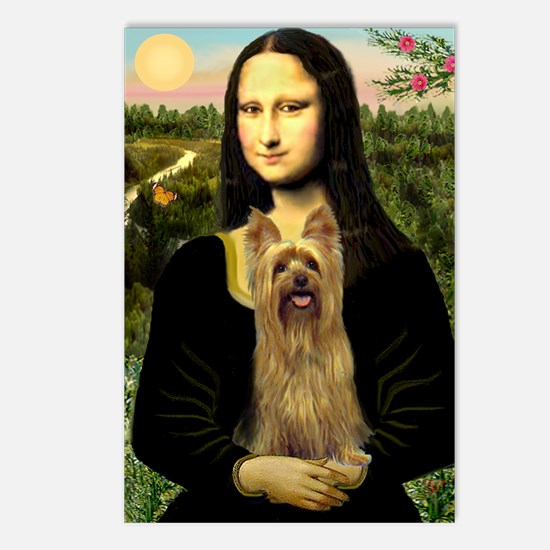 Mona Lisa / Silky T Postcards (Package of 8)