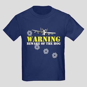 A-10 Warthog witty slogan Kids Dark T-Shirt