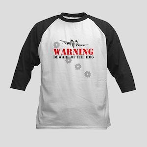 A-10 Warthog witty slogan Kids Baseball Jersey
