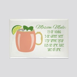 Moscow Mule Recipe Magnets
