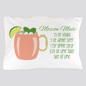 Moscow Mule Recipe Pillow Case