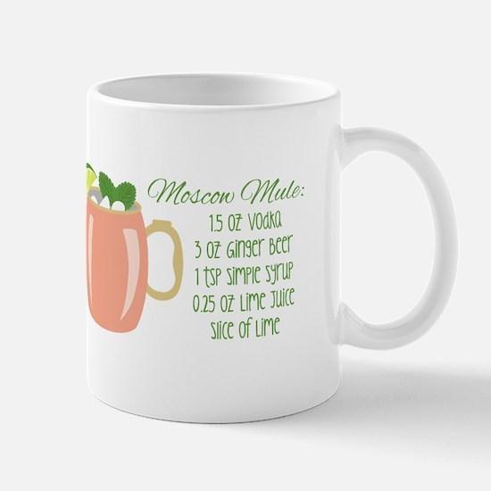 Moscow Mule Recipe Mugs