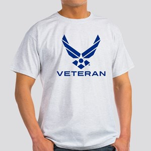 U.S. Air Force Logo Veteran Light T-Shirt