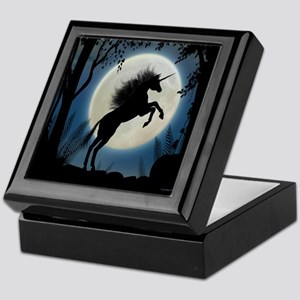 Moonlit Unicorn Keepsake Box