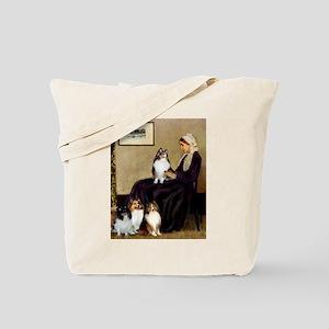 Whistler's / 3 Shelties Tote Bag