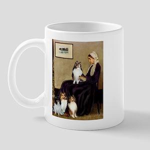 Whistler's / 3 Shelties Mug