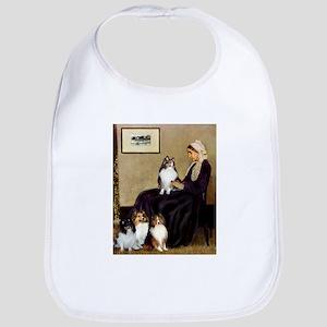 Whistler's / 3 Shelties Bib