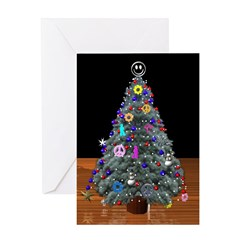 3D Tree Secret Santa Greeting Card