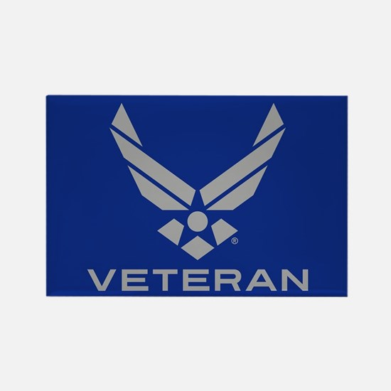 U.S. Air Force Logo Veteran Rectangle Magnet