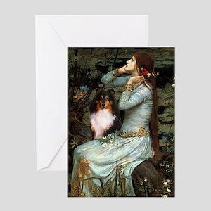 Ophelia / Shelie tri Greeting Card