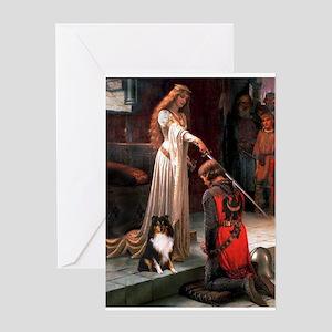 Accolade / Sheltie tri Greeting Card
