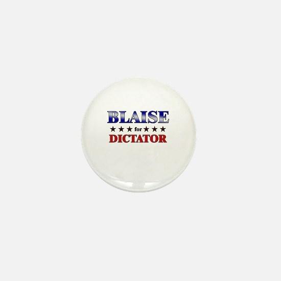 BLAISE for dictator Mini Button