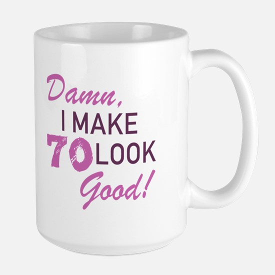 70th Birthday Humor Mugs
