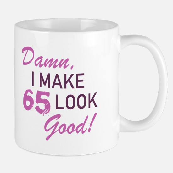 65th Birthday Humor Mugs