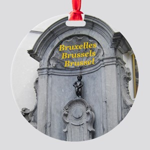 Brussels Round Ornament